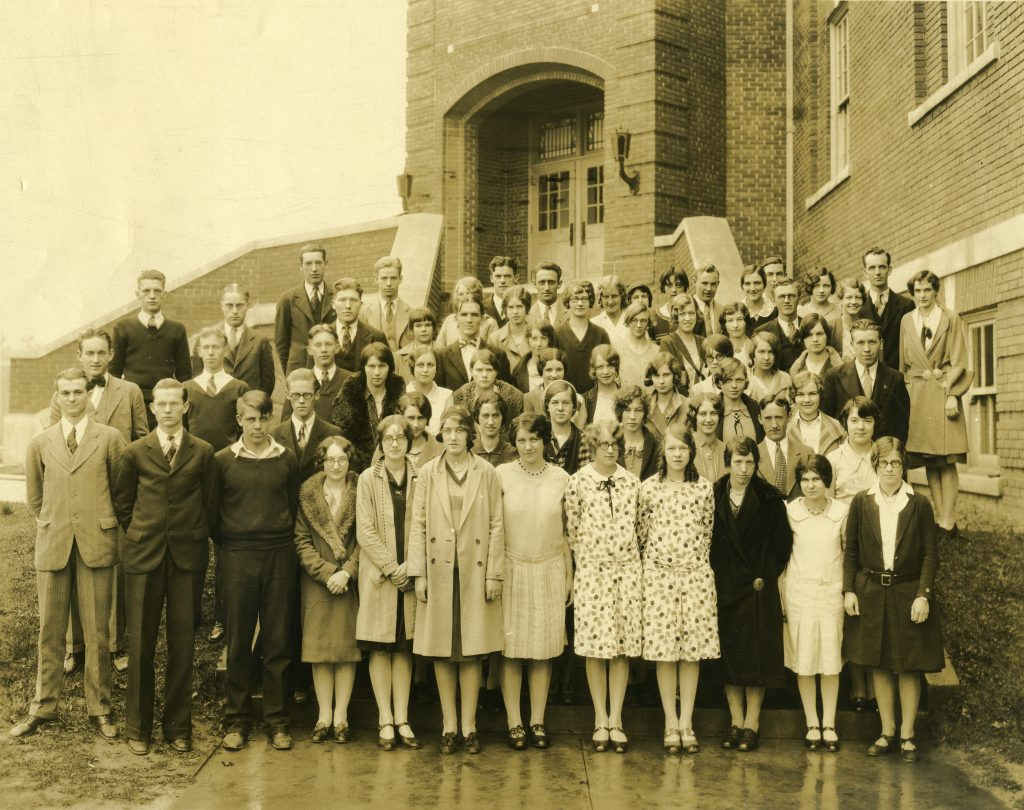 1930 Graduates, Buncombe County Junior College [ABP_3]