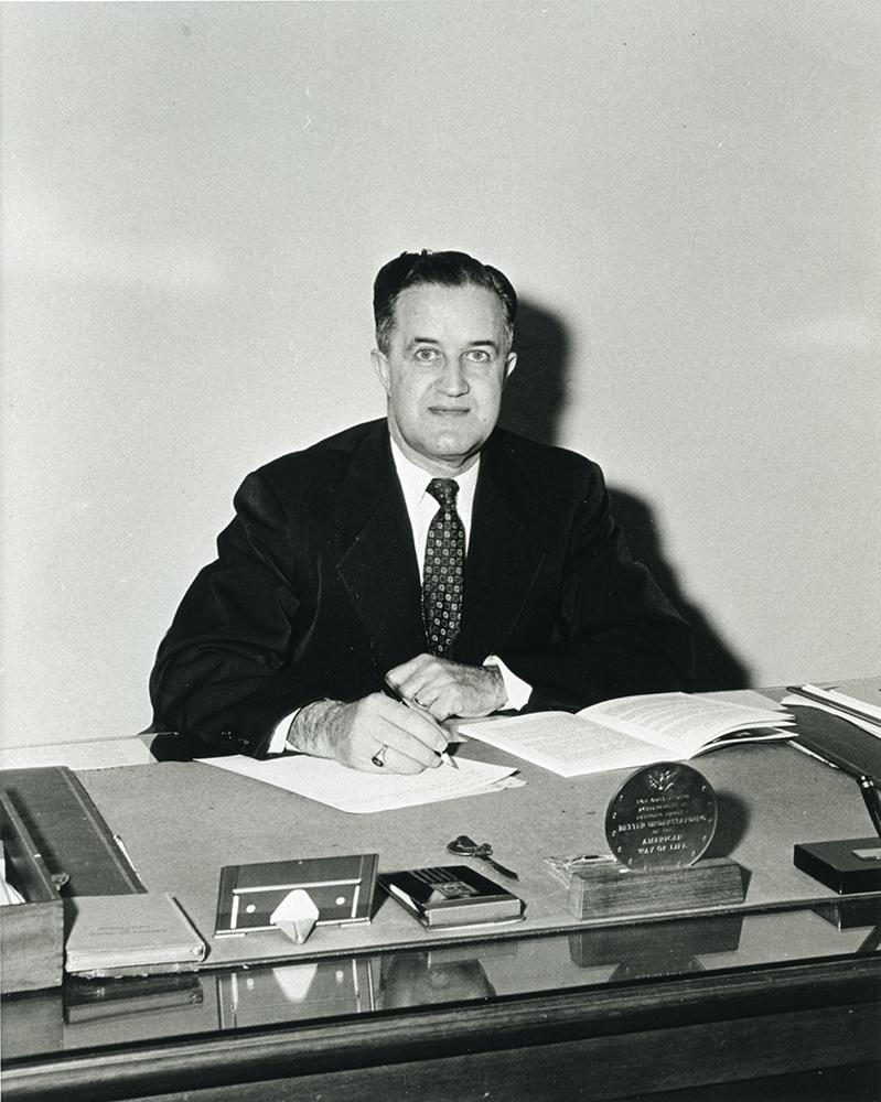 Asheville-Biltmore President Glenn L. Bushey