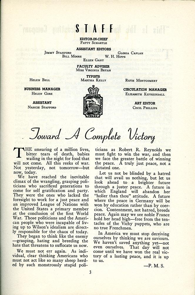 Bluets May 1942