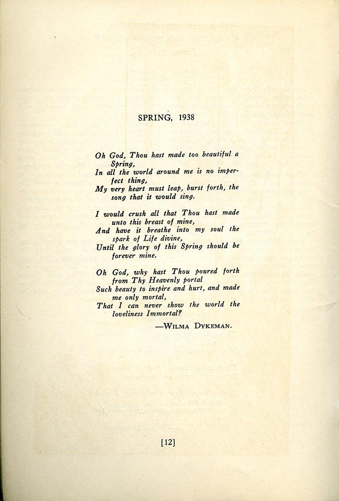 Dykeman, 1938