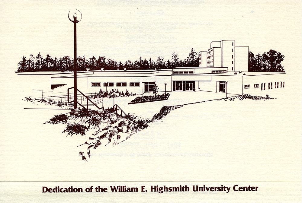 Highsmith dedication, 1984